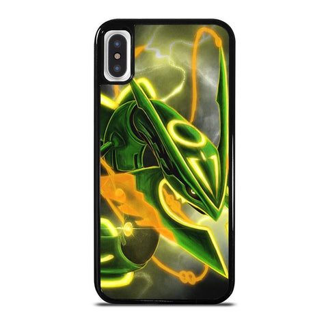 POKEMON SHINY RAYQUAZA 2-iphone-x-case-cover