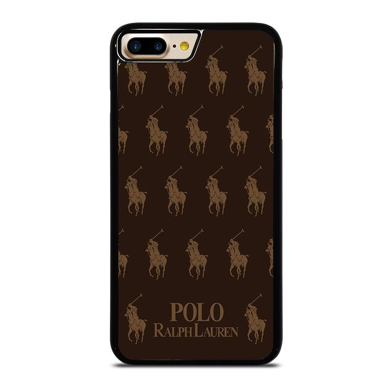 new styles f4ba3 81fde POLO RALPH LAUREN COLLAGE BROWN iPhone 7 Plus Case Cover - Favocase