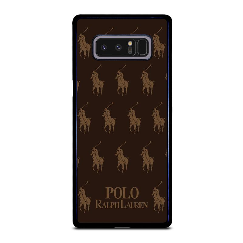 Brown Cover Lauren Favocase Note Samsung Case Collage Galaxy Polo Ralph 8 IWD29EHY