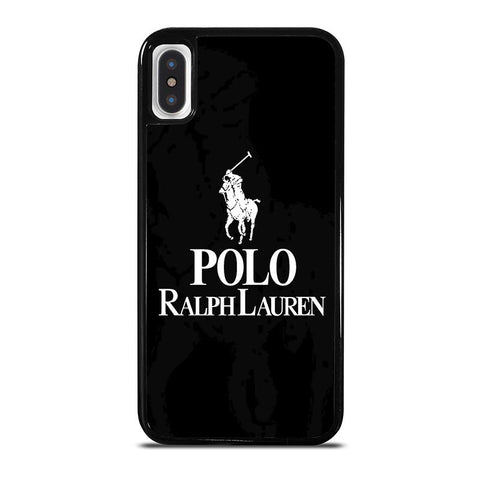 POLO RALPH LAUREN LOGO-iphone-x-case-cover