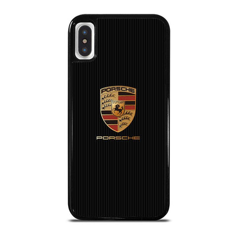PORSCHE-LOGO-iphone-x-case-cover