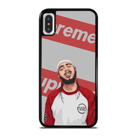 POST MALONE SUPREME-iphone-x-case-cover