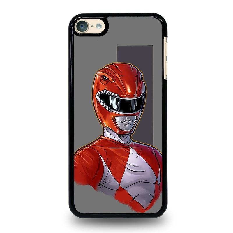 buy popular a4179 9b678 POWER RANGERS RED iPod Touch 6 Case Cover - Favocase