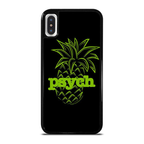 PSYCH PINEAPPLE-iphone-x-case-cover