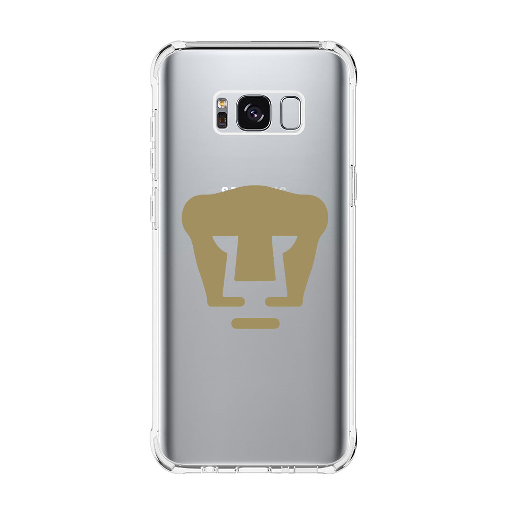 best sneakers de704 0592a PUMAS UNAM LOGO Samsung Galaxy S5 S6 Edge S7 S8 S9 S10 Plus S10e Clear Case  Transparent - Favocase