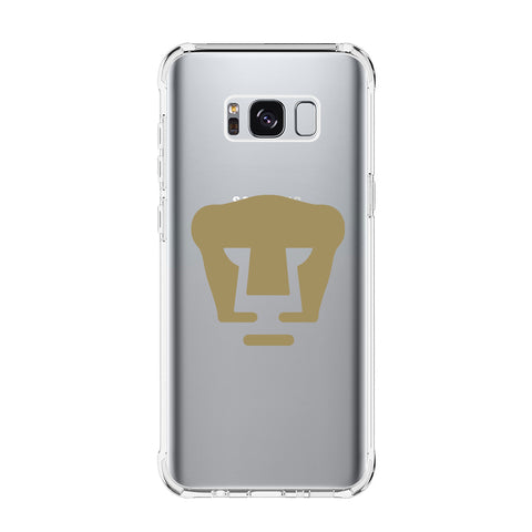 PUMAS UNAM LOGO Samsung Galaxy S5 S6 Edge S7 S8 S9 S10 Plus S10e Transparent Clear Case Cover