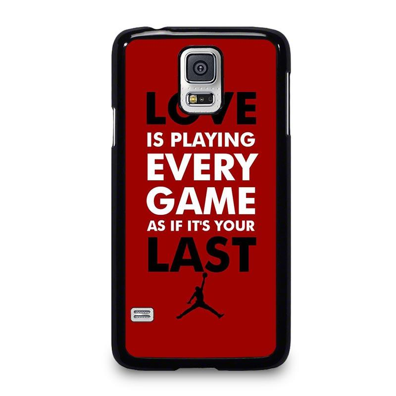 competitive price 8db36 2f812 QUOTE MICHAEL JORDAN Samsung Galaxy S5 Case Cover - Favocase