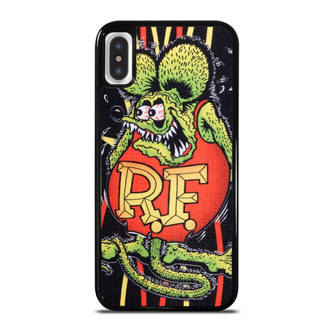 RAT FINK PINSTRIPE-iphone-x-case-cover
