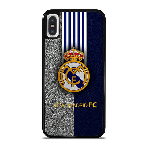 REAL MADRID FC LOGO-iphone-x-case-cover