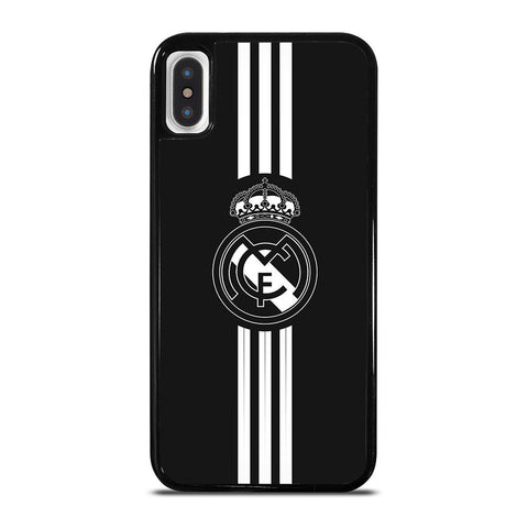 REAL MADRID STRIP-iphone-x-case-cover