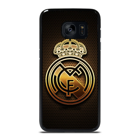 REAL MADRID FC GOLD Samsung Galaxy S7 Edge Case Cover