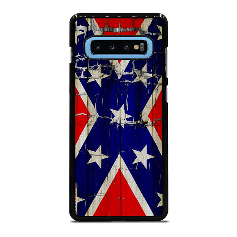 REBEL FLAG WOODEN 2 Samsung Galaxy S4 S5 S6 S7 S8 S9 S10 S10e Edge Plus Note 4 5 8 9 Case Cover