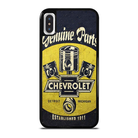 RETRO POSTER CHEVY CHEVROLET,-iphone-x-case-cover