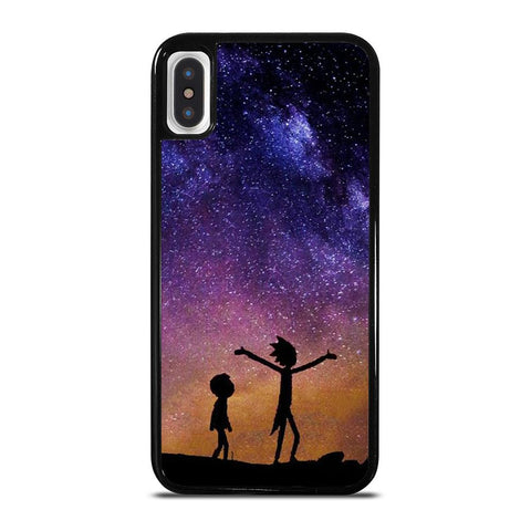 RICK AND MORTY GALAXY-iphone-x-case-cover
