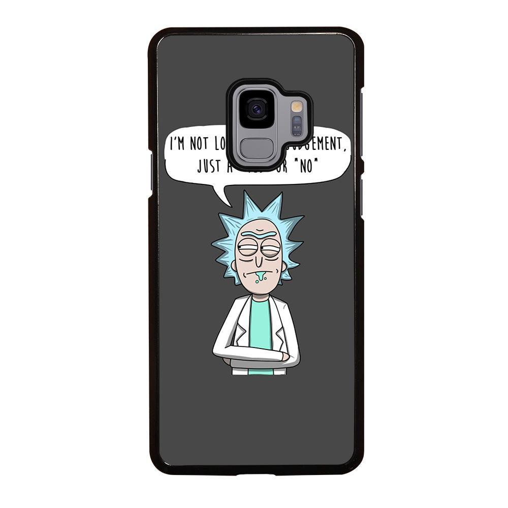 new products 84b3c ee04b RICK AND MORTY QUOTE Samsung Galaxy S9 Case Cover - Favocase