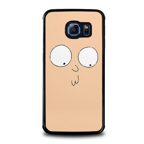 RICK-AND-MORTY-STUPID-FACE-samsung-galaxy-s6-edge-case-cover