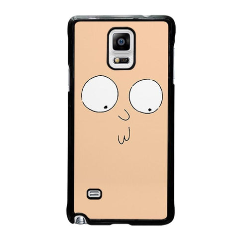 RICK-AND-MORTY-STUPID-FACE-samsung-galaxy-note-4-case-cover