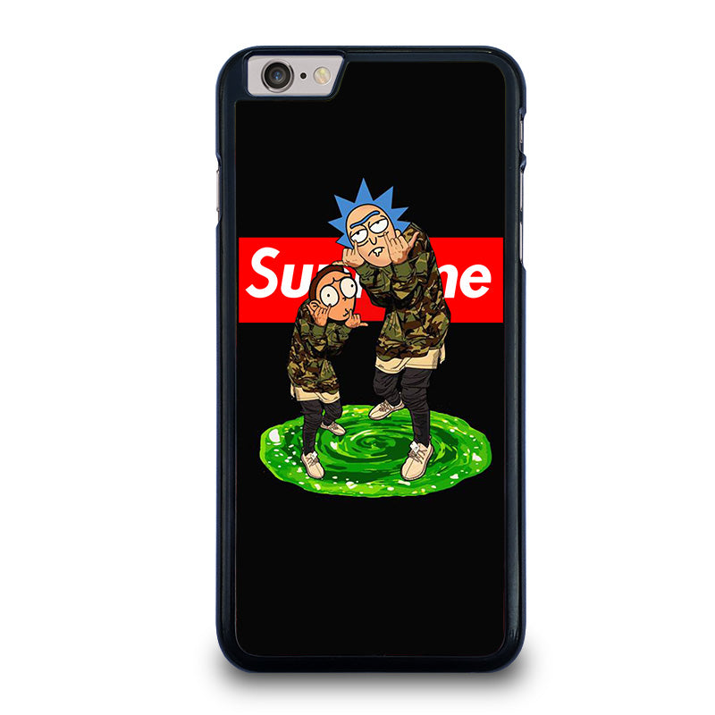 watch 66292 384de RICK AND MORTY SUPREME iPhone 6 / 6S Plus Case Cover - Favocase