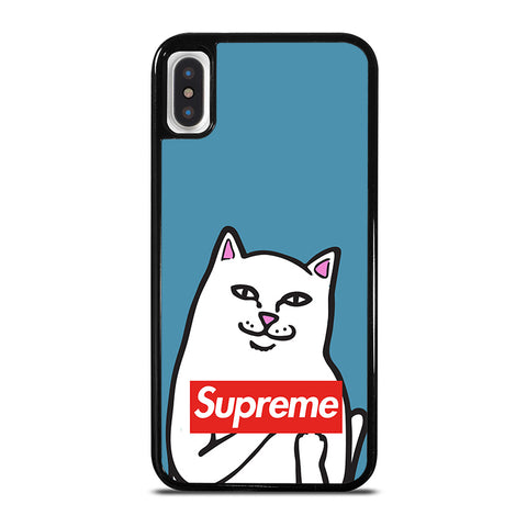 RIPNDIP SUPREME iPhone X / XS Case - Best Custom Phone Cover Cool Personalized Design