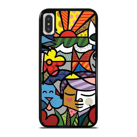 ROMERO BRITTO 2-iphone-x-case-cover