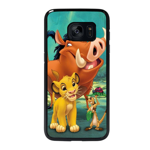 SIMBA LION KING CARTOON DISNEY-samsung-galaxy-s7-edge-case-cover