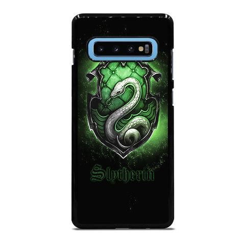SLYTHERIN LOGO Samsung Galaxy S4 S5 S6 S7 S8 S9 S10 S10e Edge Plus Note 4 5 8 9 Case Cover