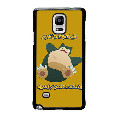 SNORLAX-POKEMON-samsung-galaxy-note-4-case-cover