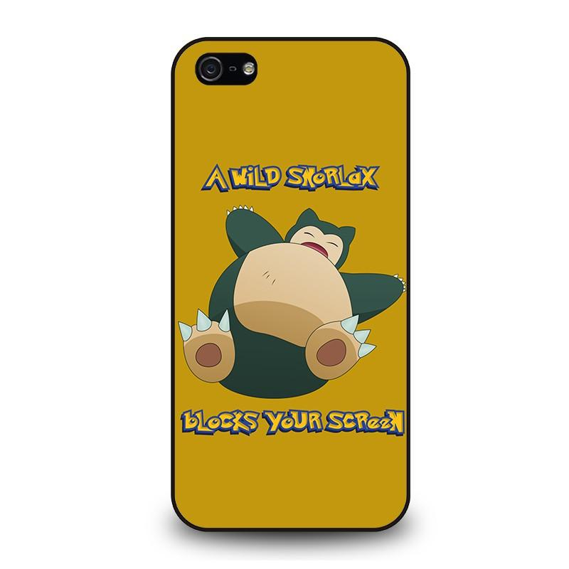 detailed look dc1d3 db2af SNORLAX POKEMON iPhone 5 / 5S / SE Case Cover - Favocase