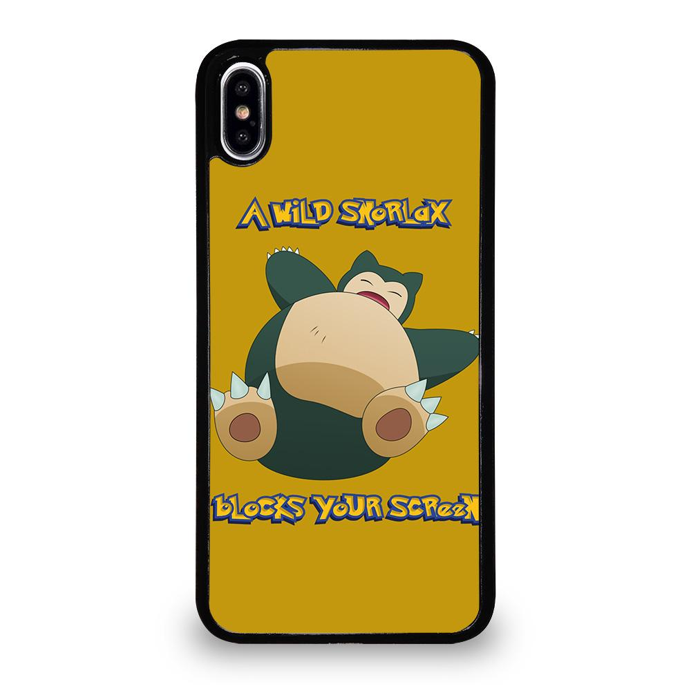 huge discount c0ed1 51b87 SNORLAX POKEMON iPhone XS Max Case Cover - Favocase