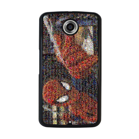SPIDERMAN-ART-COLLAGE-nexus-6-case-cover