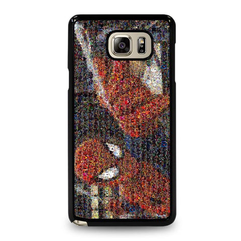 SPIDERMAN-ART-COLLAGE-samsung-galaxy-note-5-case-cover