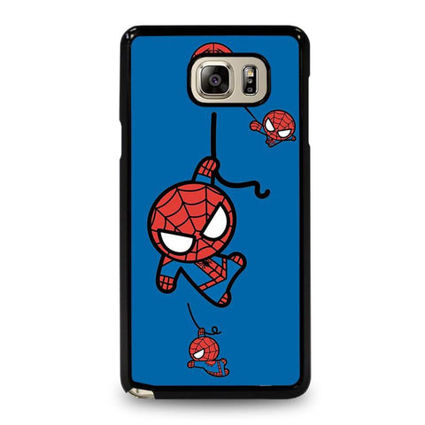 SPIDERMAN-KAWAII-Marvel-Avengers-samsung-galaxy-note-5-case-cover