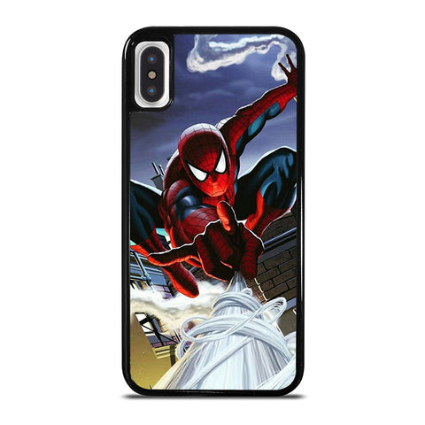 SPIDERMAN MARVEL SWING iPhone X / XS Case - Best Custom Phone Cover Cool Personalized Design