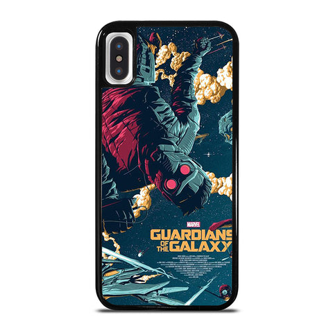 STAR LORD GUARDIAN OF THE GALAXY iPhone X / XS Case - Best Custom Phone Cover Cool Personalized Design