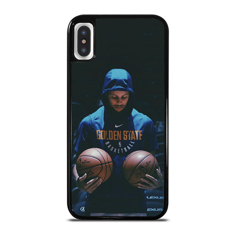 STEPHEN CURRY GOLDEN STATE BASKETBALL-iphone-x-case-cover