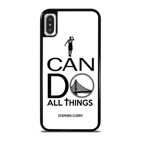 STEPHEN CURRY I CAN DO-iphone-x-case-cover