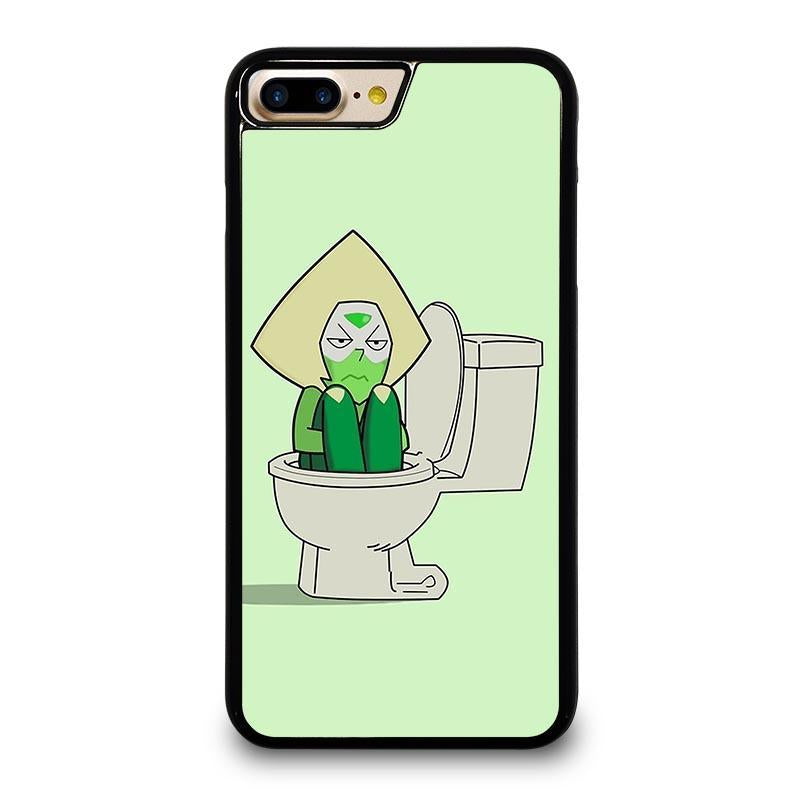 separation shoes 79003 f53b5 STEVEN UNIVERSE PERIDOT IN TOILET iPhone 7 Plus Case Cover - Favocase