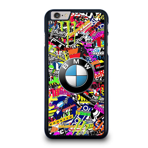 STICKER BOMB BMW LOGO-iphone-6-6s-plus-case-cover