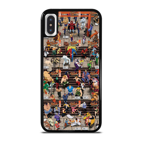 STREET FIGHTER UNLIMITED iPhone X / XS Case - Best Custom Phone Cover Cool Personalized Design
