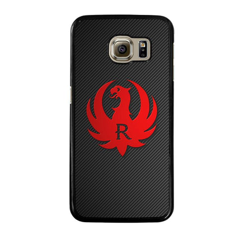 STURM RUGER FIREARM CARBON LOGO-samsung-galaxy-S6-case-cover