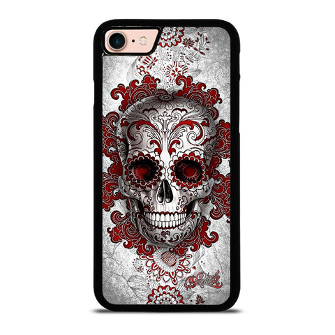 SUGAR SKULL TATTOO 2-iphone-8-case-cover