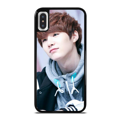 SUGA BTS-iphone-x-case-cover