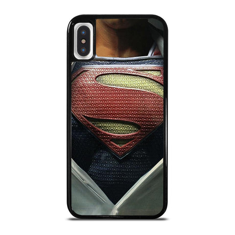 SUPERMAN OPENING SHIRT-iphone-x-case-cover