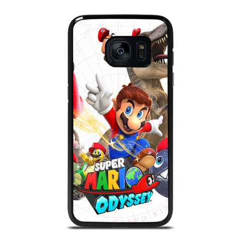 SUPER MARIO ODYSSEY Samsung Galaxy S7 Edge Case Cover