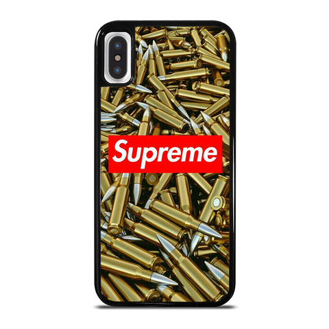 SUPREME BULLET iPhone X / XS Case - Best Custom Phone Cover Cool Personalized Design