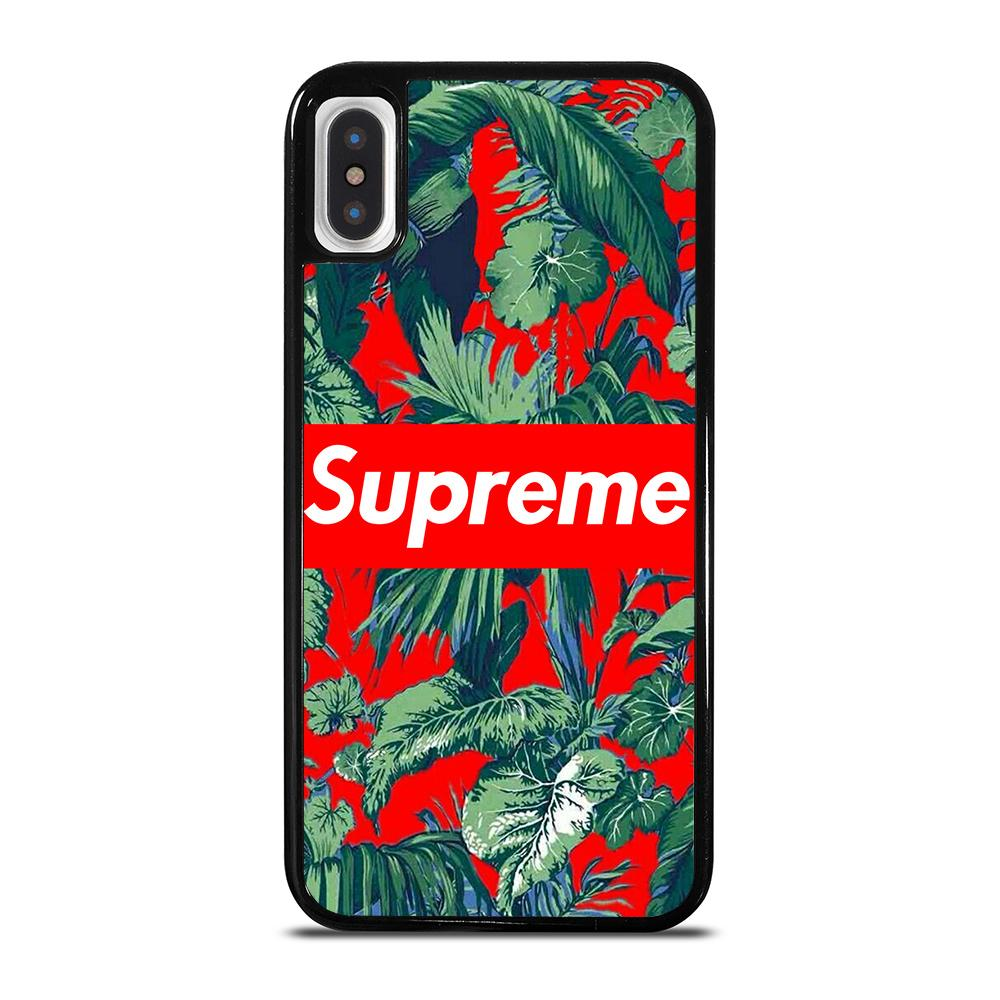 new product 905e0 01b74 SUPREME FLORAL iPhone X / XS Case Cover - Favocase