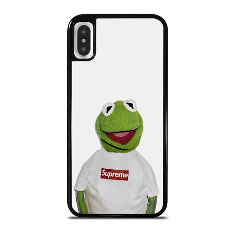 SUPREME KERMIT SESAME STREET-iphone-x-case-cover