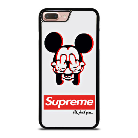 SUPREME MICKEY MOUSE-iphone-8-plus-case-cover