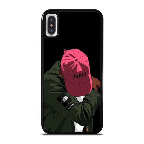 SUPREME NORTHFACE YEEZY iPhone X / XS Case - Best Custom Phone Cover Cool Personalized Design