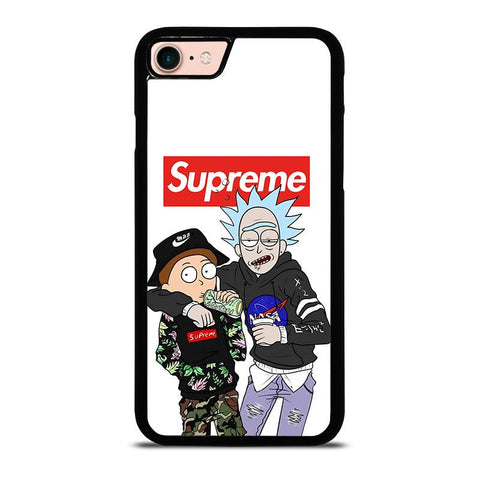 SUPREME RICK AND MORTY-iphone-8-case-cover